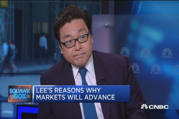 Tom Lee: Time to look at growth trades