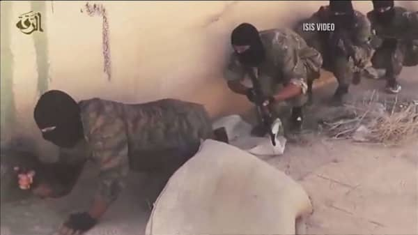 Pentagon says number of Islamic State combatants are shrinking