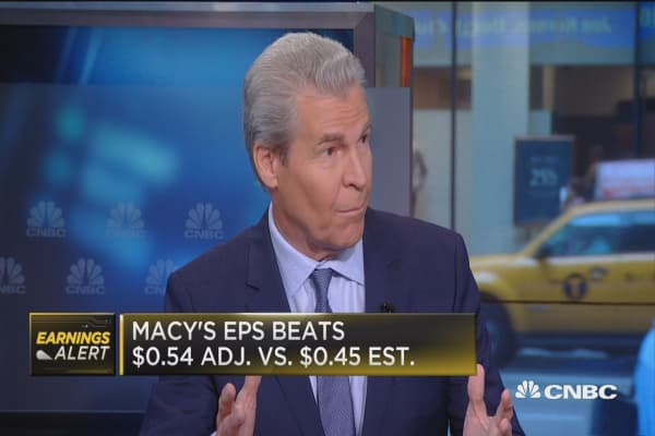 Macy's CEO: Benefiting from online spending