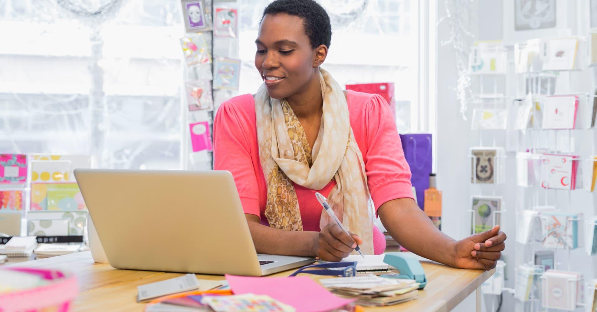 Entrepreneur woman minority
