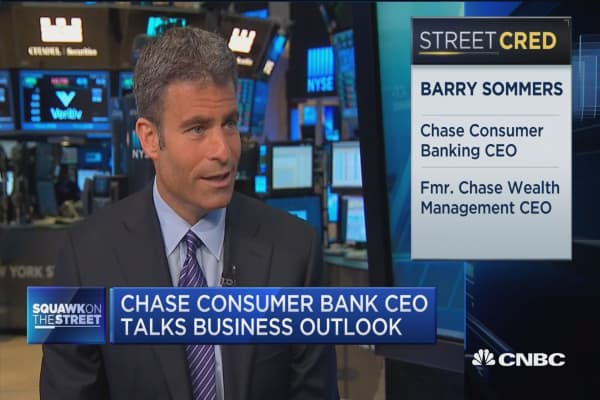 Chase's Sommers: Branch remains the center of customer relationship