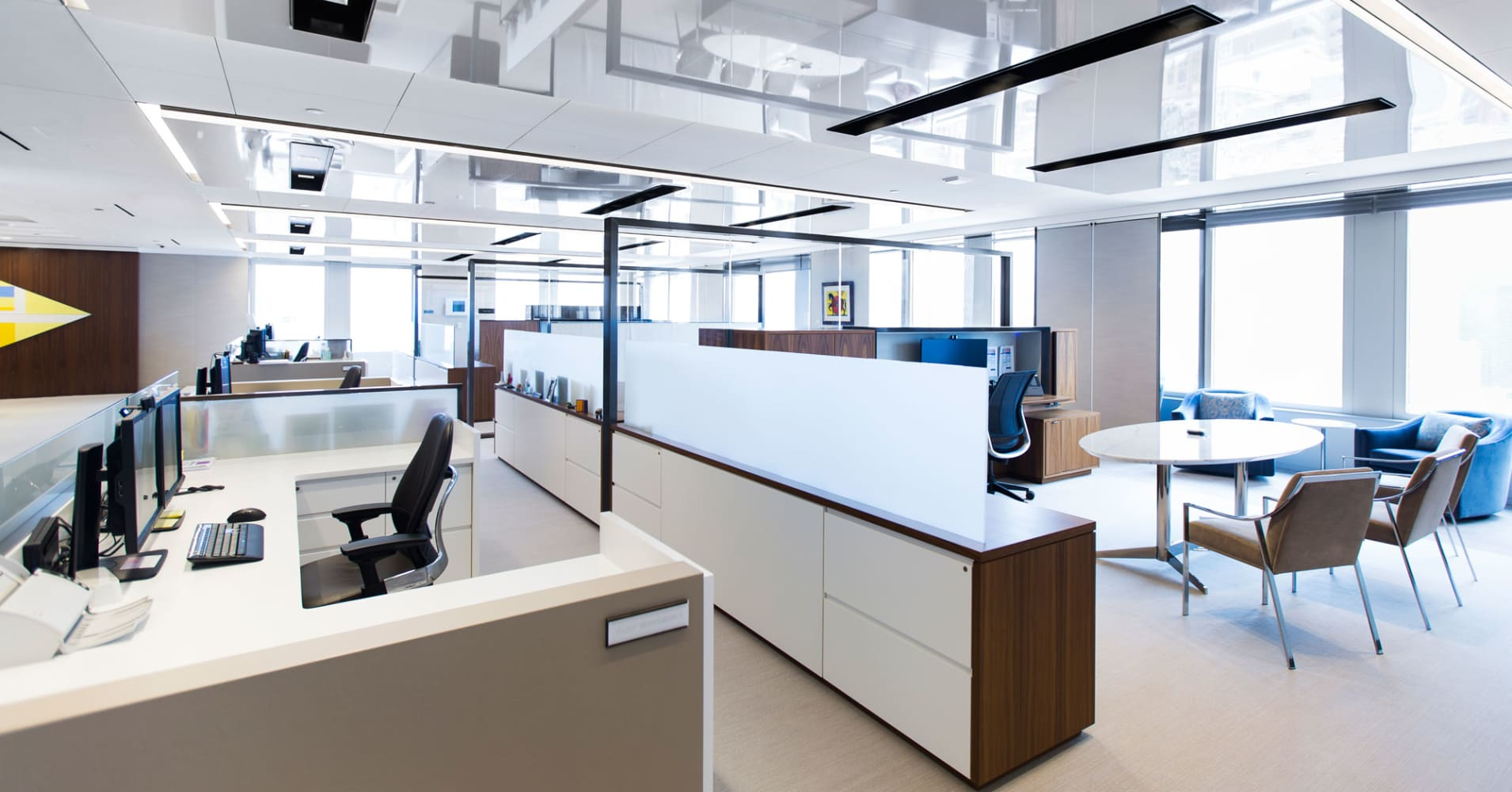 Citi's new global headquarters features open office space that allows for easier interaction between colleagues and is designed to promote communication across teams and functions.