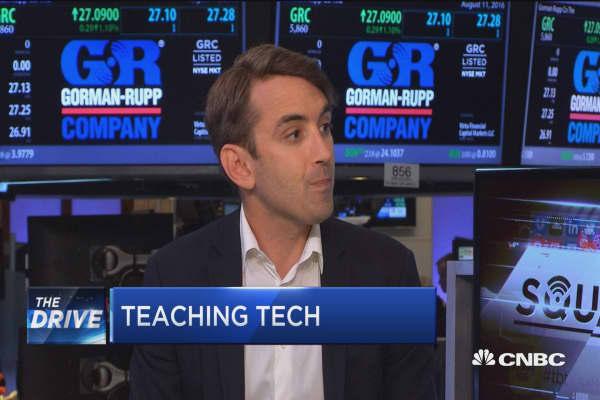 Teaching tech to the workforce of tomorrow