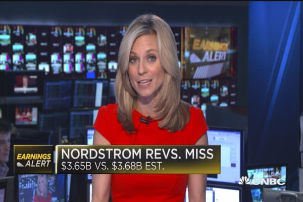 Nordstrom EPS beats