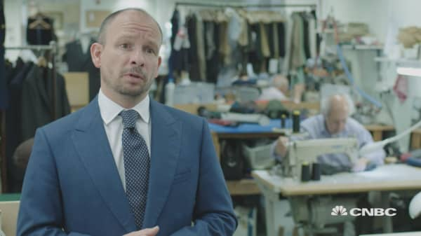 The tailoring dynasty of Savile Row