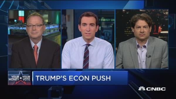 Trump, Clinton's clashing economic plans