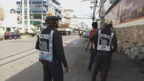 Thailand rocked by series of bombs