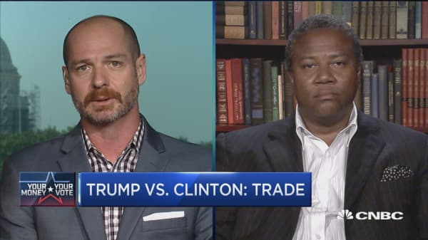 Trump vs. Clinton on trade