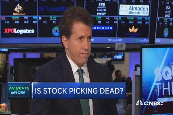 Is stock picking dead?