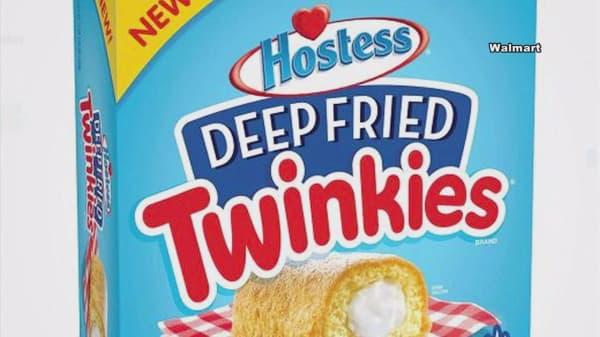 Hostess unveils 'Deep Fried Twinkies' at Wal-Mart