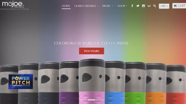 This start-up put a coffee-maker in a travel mug