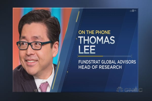 Tom Lee unveils his latest sector pick