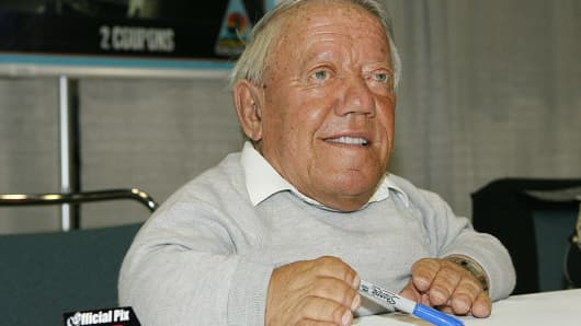 Kenny Baker, alter ego of R2-D2 during 'Star Wars' Celebration IV - Day 2 - Media Day at Los Angeles Convention Center in Los Angeles, California, United States.