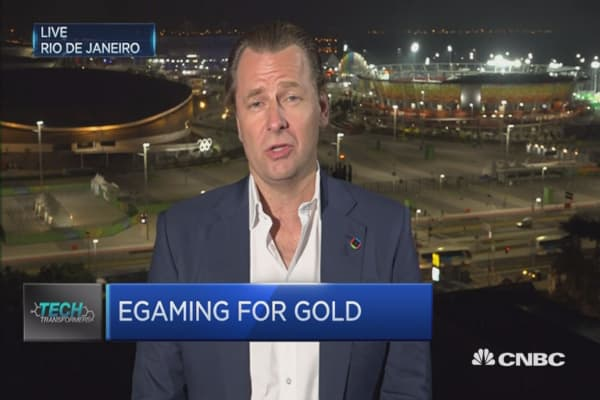 e-Gaming for Gold in Rio