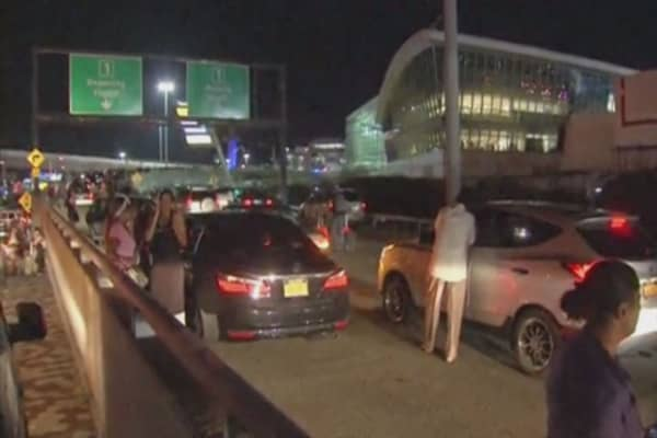 JFK Airport faces shooting scare