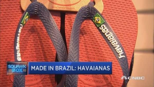 Havaianas - flip-flops made in Brazil