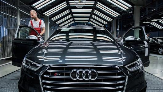 Audi S3 automobile