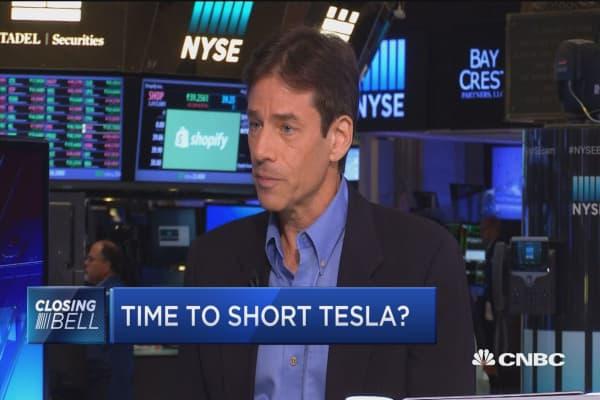 Time to short Tesla?