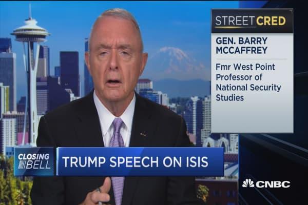 Gen. Barry McCaffrey: Trump speech sheer nonsense