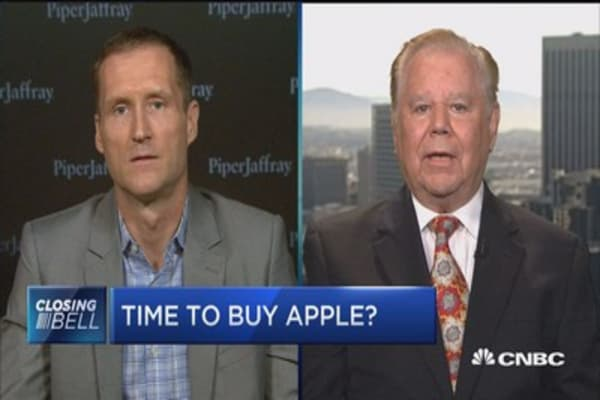 Time to buy Apple?