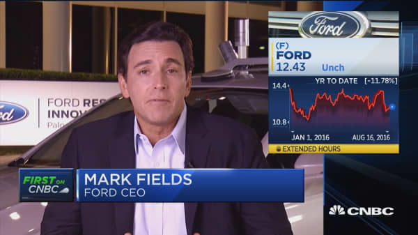 Ford CEO: Automation will define next decade
