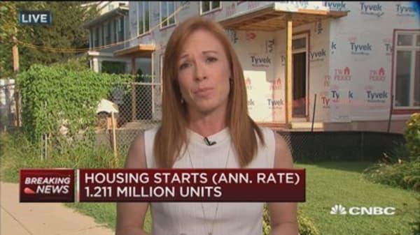Housing numbers jump