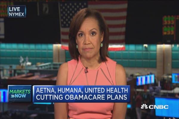 Aetna retreats from Obamacare
