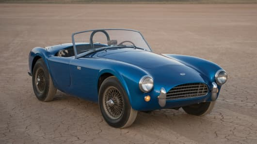 The 1962 Shelby Cobra 260.