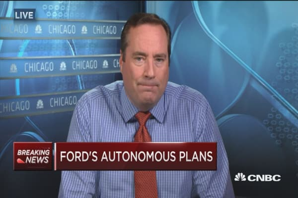 Ford's self-driving car plans