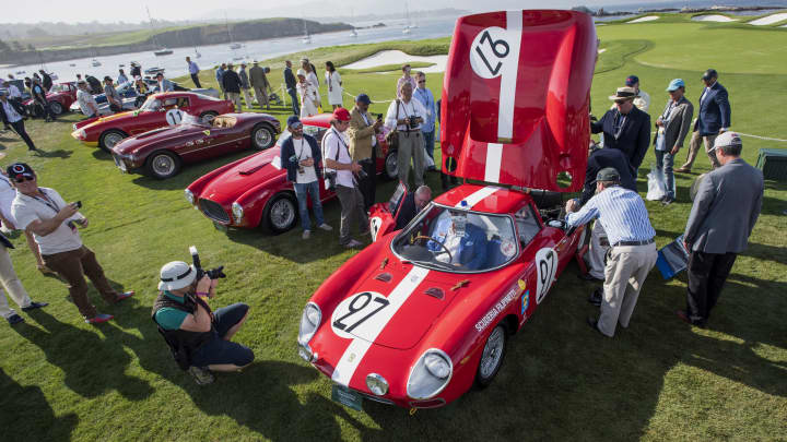 The Cars Set To Fetch Million And More At Pebble Beach - Pebble beach car show ticket prices
