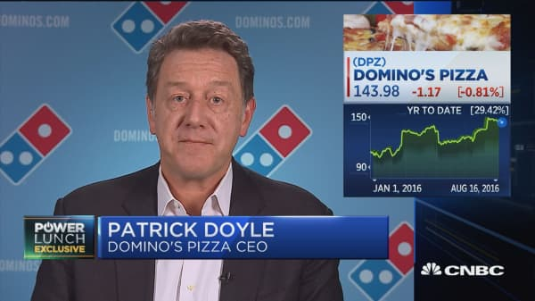 Domino's CEO: We're looking into autonomous vehicles