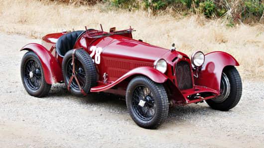 1933 Alfa Romero 8C.