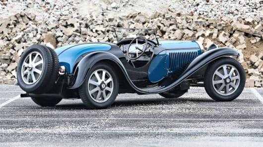 1932 Bugatti Type 55.