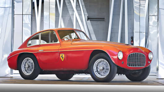 1950 Ferrari 166 MM Berlinetta