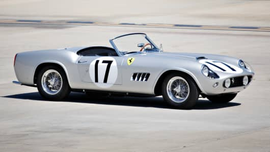 1959 Ferrari 250 GT California LWB Spider.