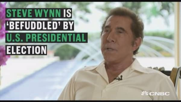 Steve Wynn 'befuddled' by U.S. election