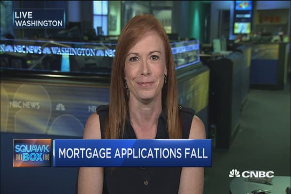 Mortgage apps down 4% last week