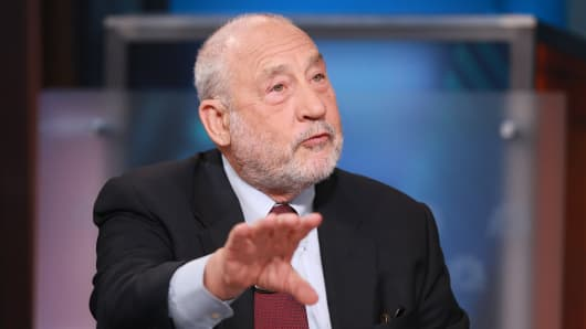 Joseph Stiglitz: US trade deals were designed to serve corporations at the expense of workers