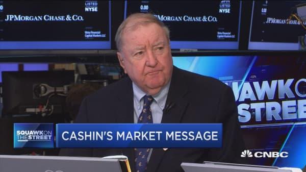 Cashin's market message