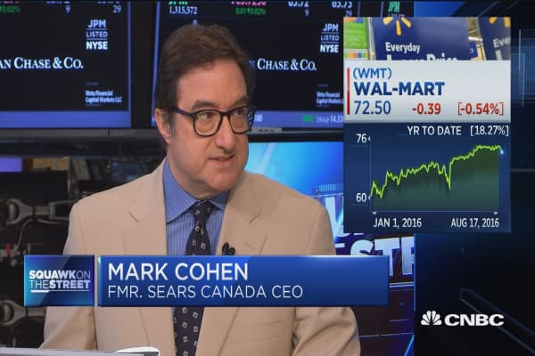 Stupid acquisition award for WMT/Jet.com: Cohen