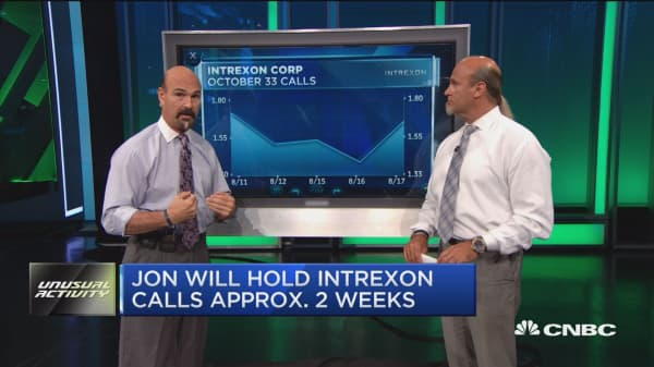 Bullish bets on Intrexon, gold