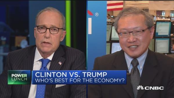 Clinton vs. Trump: Best for Economy?