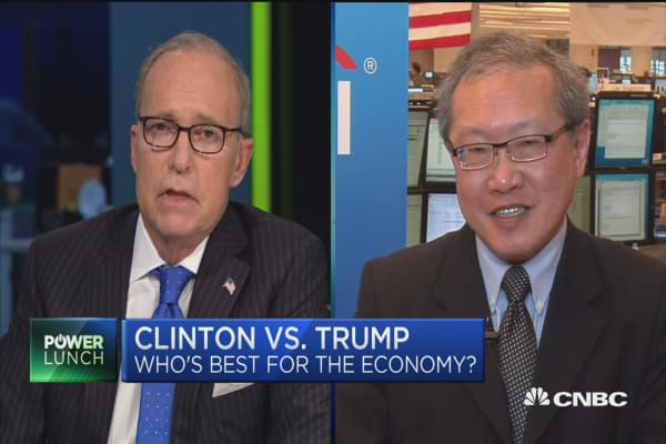 Clinton vs. Trump: Best for Economy?
