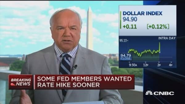 Fed: Increases in rates would soon be warranted