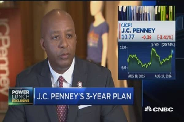 JC Penney CEO on 3-year plan