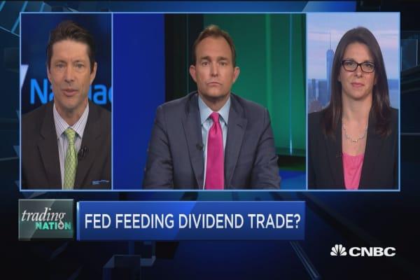 Fed feeding dividend trade?