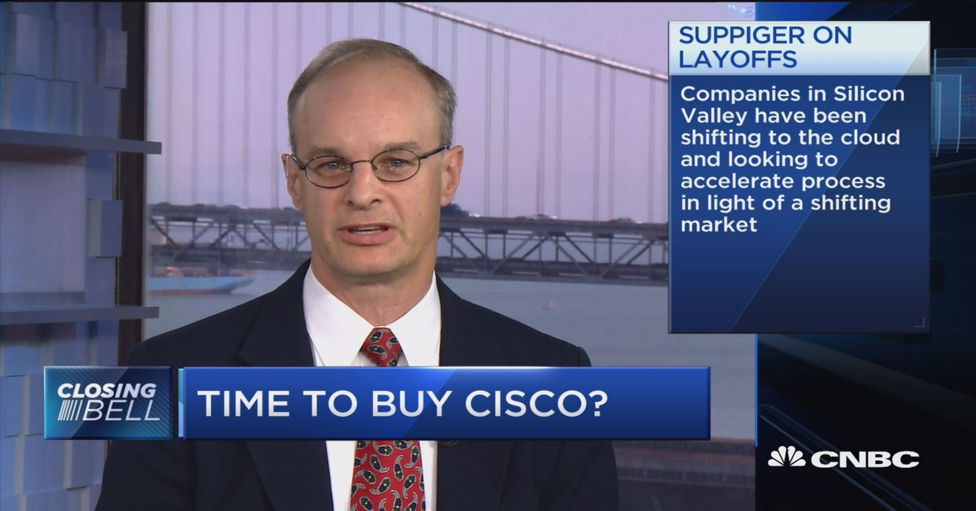Time to buy Cisco?