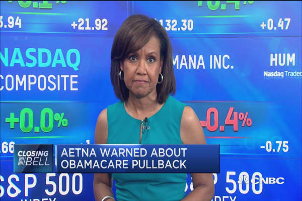 Aetna warned about Obamacare pullback