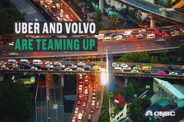 Uber and Volvo team up