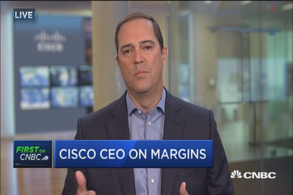 Cisco CEO on Q4 results
